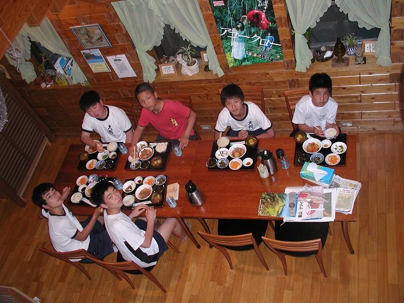 修学旅行 高知県香美市立大栃中学校